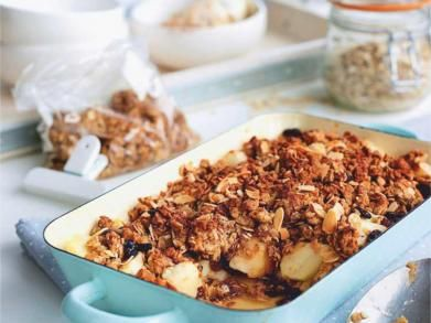 Recept: Appelcrumble met havermout
