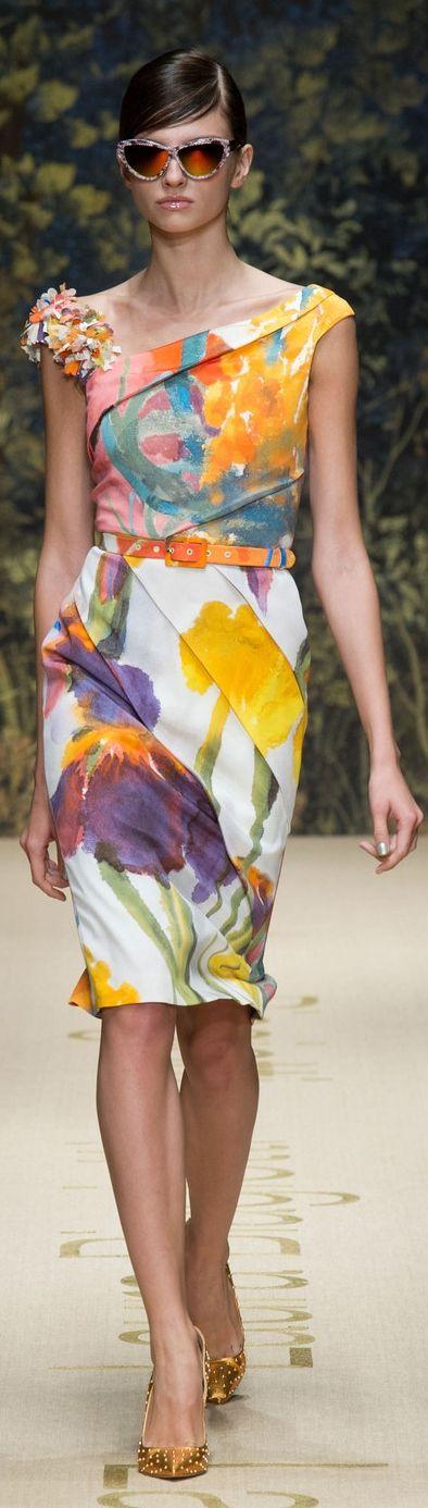 Laura Biagiotti RTW Spring/Summer 2014