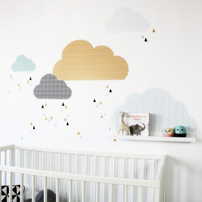 oltre 10 fantastiche idee su wandtattoo wolken su pinterest ... - Stickers Murali Ikea