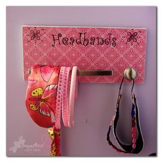 how to organize headbands for adults   1000+ images about Hair Accessory holders on Pinterest   Headband ...