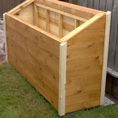 The RunnerDuck Firewood Box Plan, Is A Step By Step Instructions On How To  Build
