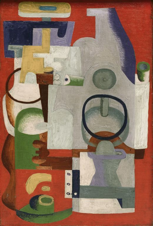 le corbusier abstract composition 1927 abstract pinterest totems le corbusier and art. Black Bedroom Furniture Sets. Home Design Ideas