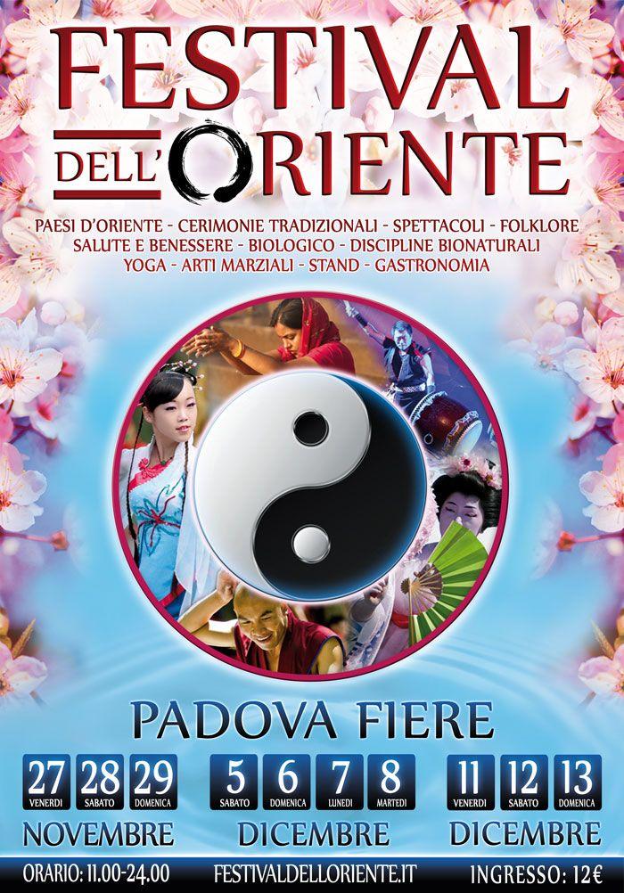 A Padova torna il Festival dell'Oriente (27, 28, 29 novembre)!
