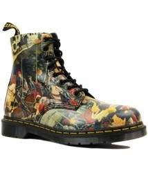 Pascal DR MARTENS Mod D'Antonio Renaissance Boots. A work of art in itself, this Dr Martens 'Pascal' Boot offers a glimpse into the world of Renaissance Art and the works of celebrated 15th Century painter, Biagio d'Antonio. A real collectors piece: http://www.atomretro.com/19736 #drmartens #doctormartens #docmartens #pascalboots #drmartenspascal #boots #DAntonio #Renaissance #art #painter #artist #atomretro #mensfootwear #mensstyle #mensfashion