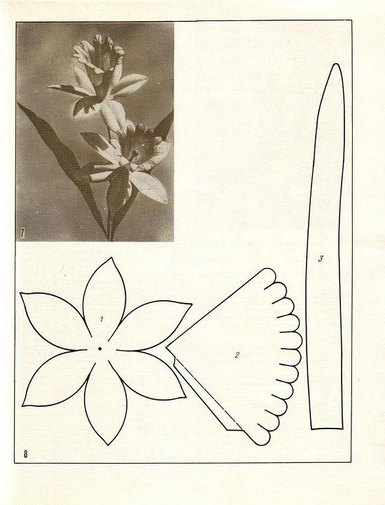 описание изготовления цветов из ткани10