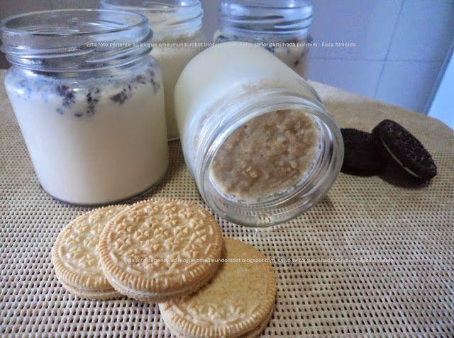 O meu mundo Robot: Bimby & iogurteira - Iogurtes com bolachas de caca...