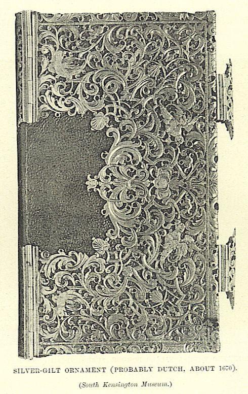 silver gilt ornament,about  1670 South  Kesington Museum