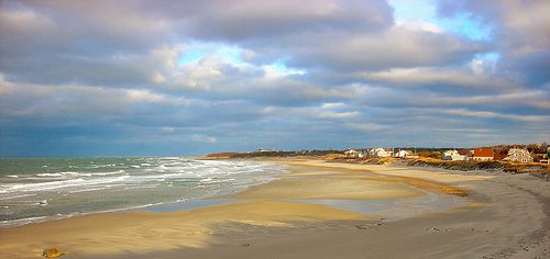 Corporation Beach, Dennis, MA.