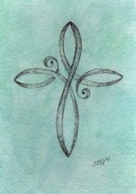 love this cross design for a tattoo