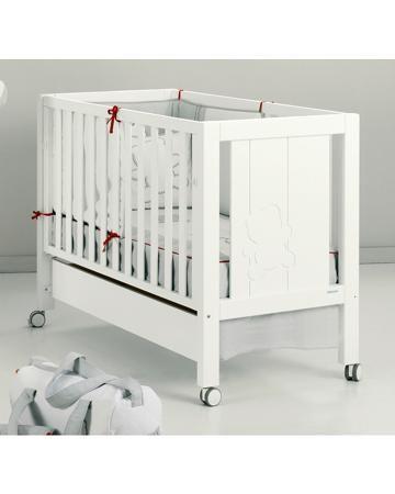 Micuna 120х60 см белая Neus Relax  — 31950р. ------------------- Кровать 120х60 см белая Neus Relax Micuna - простая и практичная мебель для малышей. Система регулировки ложа Relax позаботится о комфорте и безопасности ваших малышей. В конструкции применены качественные материалы и нетоксичное лакокрасочное покрытие. Д...