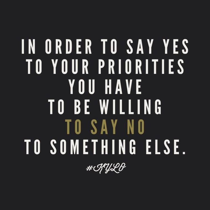 priorities in life quotes