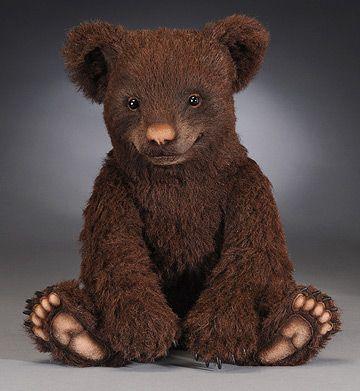 teddy bear Expresso by R. John Wright