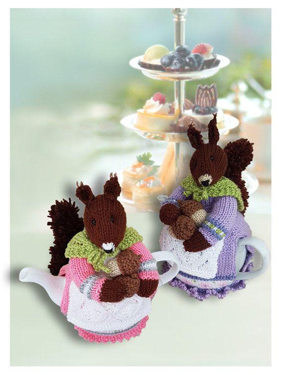 Beatrix Nutcracker Squirrel Tea Cosy