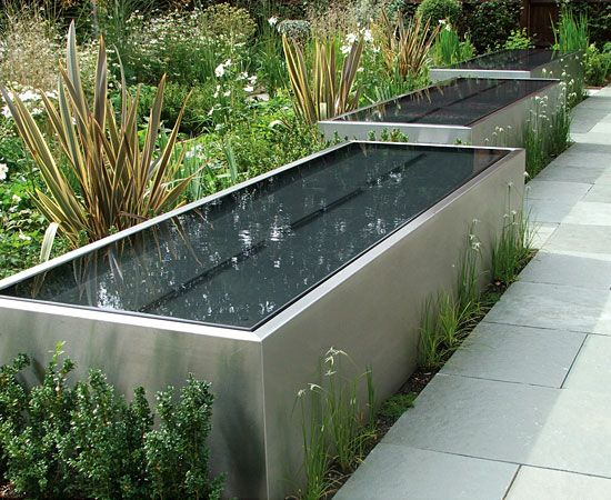 best 25 pool water features ideas on pinterest backyard pool landscaping swimming pool fountains and small garden parasol - Rectangle Pool With Water Feature