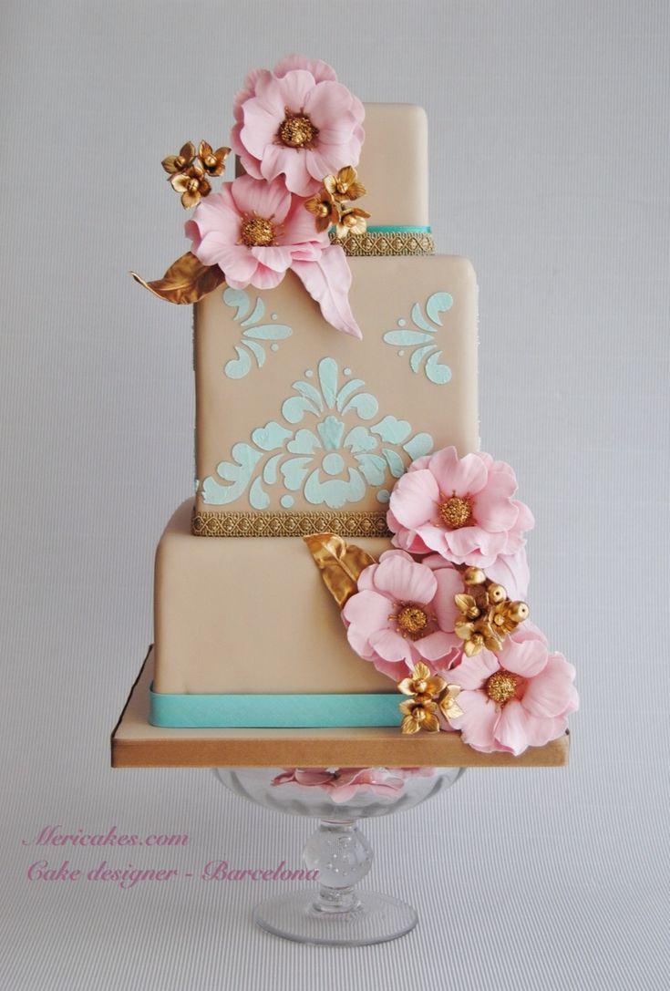 Versailles wedding cake    Tarta de boda inspirada en la opulencia del palacio…
