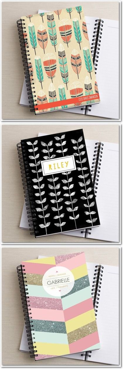 Cute, Customizable Notebooks