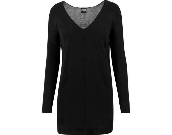 Urban Classics Ladies - Ladies Fine Knit Sweater schwarz XL Jetzt bestellen unter: https://mode.ladendirekt.de/damen/bekleidung/kleider/jerseykleider/?uid=12dba460-5e0d-5798-9909-721136539820&utm_source=pinterest&utm_medium=pin&utm_campaign=boards #kleider #jerseykleider #bekleidung