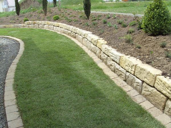 105 best Garten images on Pinterest Decks, Backyard patio and - gartenbeet steine anlegen