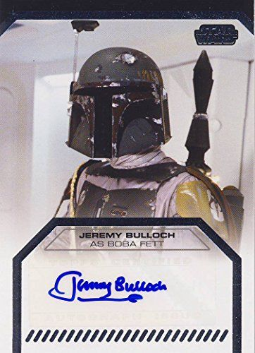 Star Wars Galactic Files Series 2 Autograph Card Jeremy Bulloch as Boba Fett @ niftywarehouse.com #NiftyWarehouse #Geek #Products #StarWars #Movies #Film