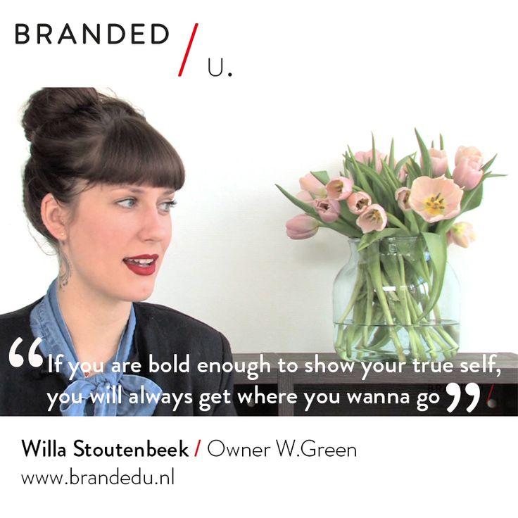 Willa Stoutenbeek / Owner W.Green