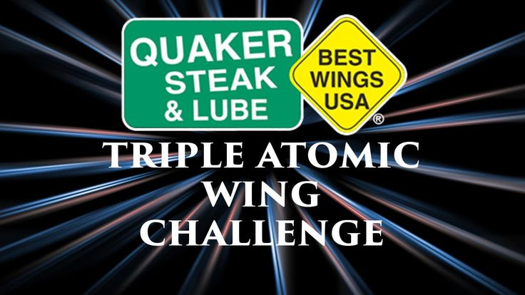 Quaker Steak and Lube Triple Atomic Wing Challenge. Big Jeff and I take on the Triple Atomic Challenge.  Will the heat break us???
