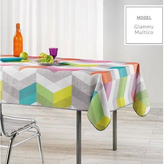 Farebný obrus do kuchyne 150x240 cm