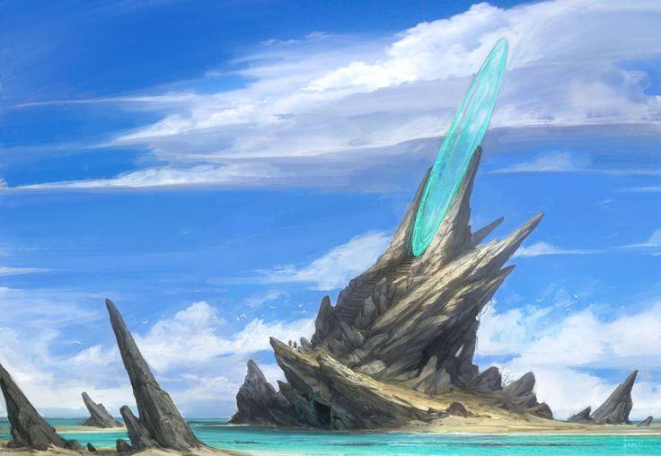 Island portal by 000Fesbra000.deviantart.com on @DeviantArt