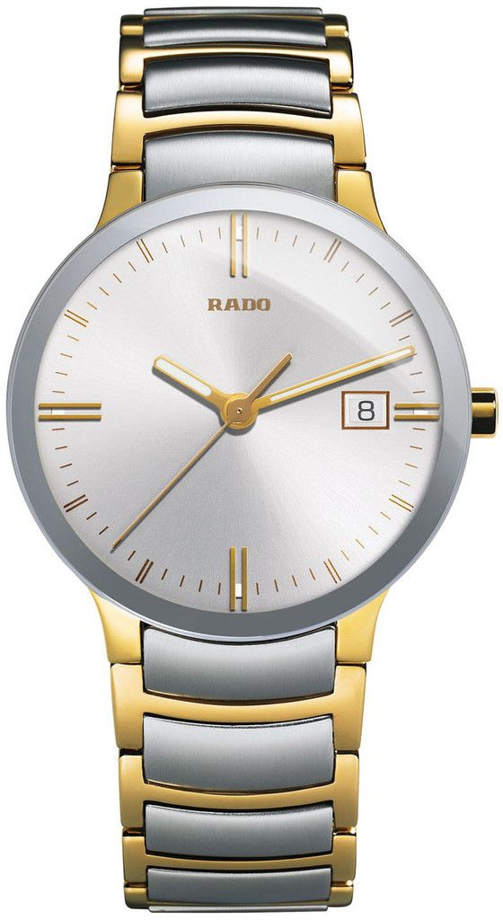Rado Watch Centrix L #bezel-fixed #bracelet-strap-gold #brand-rado #case-material-steel #case-width-38mm #date-yes #delivery-timescale-4-7-days #dial-colour-silver #gender-mens #luxury #movement-quartz-battery #official-stockist-for-rado-watches #packaging-rado-watch-packaging #style-dress #subcat-centrix #supplier-model-no-r30931103 #warranty-rado-official-2-year-guarantee #water-resistant-30m
