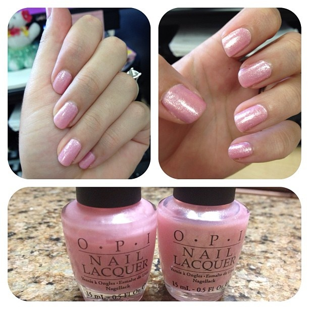 OPI Got a Date To-Knight w/ OPI Princesses Rule!