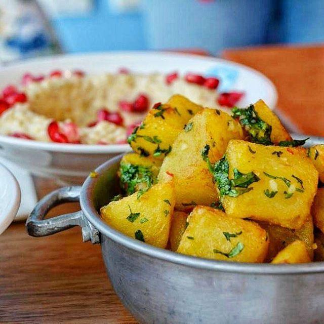 Spicy Potatoes also known as Batata Harra with Coriander �� and Green Chili at�� @enabbeirutdubai located in @citywalkdubai! #DubaiFoodie  Full review out tomorrow! ________________________________ #foodgasm #foodporn  #foodblogger #dubaifoodies #dubaiblogger #uaebloggers #igersdubai #instalike #l4l #dubailife #dubaifood #zomatouae #dubaiblog #dubaifoodblogger #Emirates #foodie #yummy #mydubai #dubailife #dubaievent #turkishcuisine #uaeblogger #dubaifoodblogger #dubai #Abudhabi…