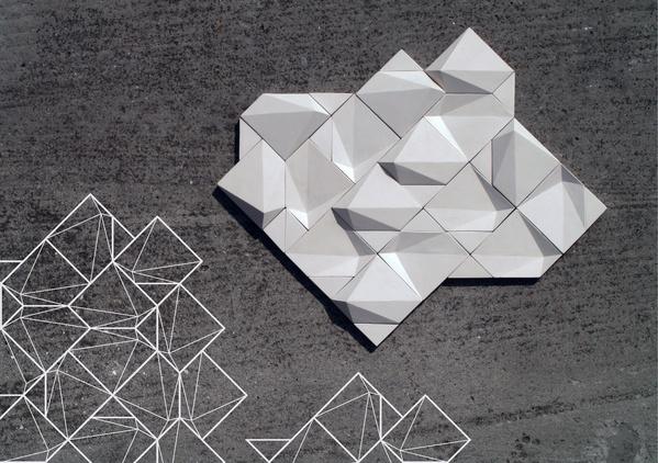 concrete/ceramic tiles by Eliza Mikus.
