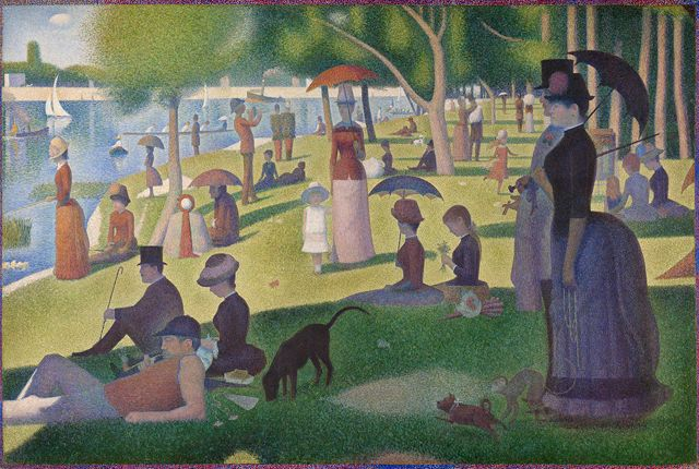 15 Things You Might Not Know About 'A Sunday on La Grande Jatte — 1884' | Mental Floss