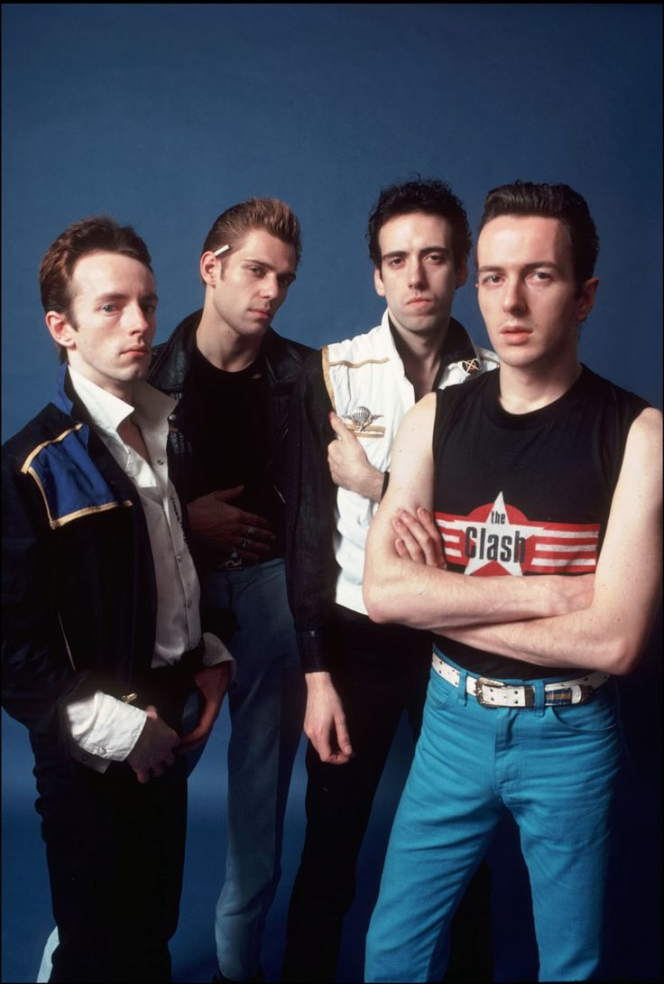 The Clash by Allan Tannenbaum.