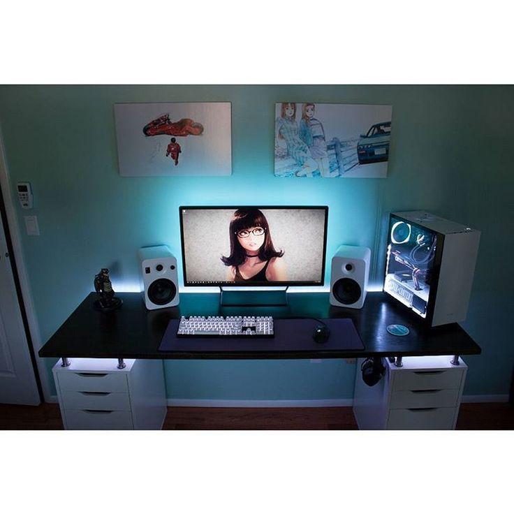 les 25 meilleures id es de la cat gorie ecran pc gamer sur pinterest cran ordinateur gamer. Black Bedroom Furniture Sets. Home Design Ideas