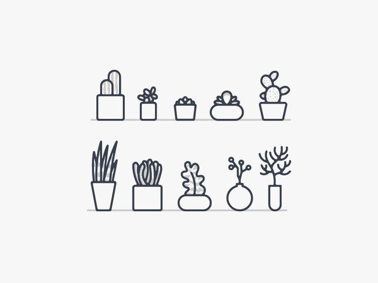 Operator Plant Icons by Ryan Putnam. Best #Icons http://iconutopia.com/best-icons-of-the-week-week-14/