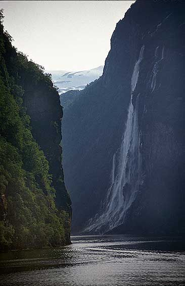 Norway Fjord. So many people I know are visiting Norway! I'd love to see the fjords