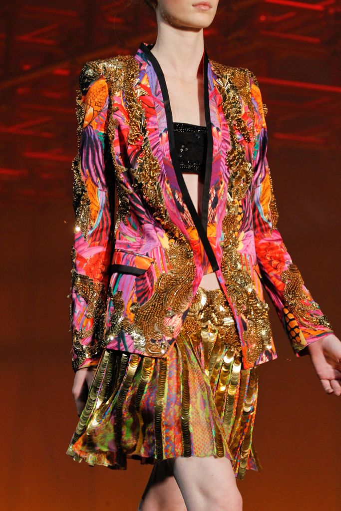 jordan infrared  for sale Roberto Cavalli Spring   Ready to Wear  Collection  Gallery  Style com
