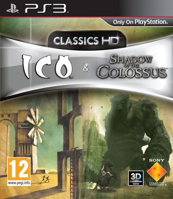 The Ico & Shadow of the Colossus Collection ps3 iso rom