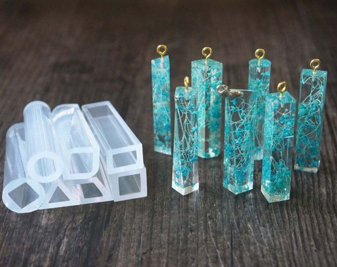 Molde de silicona New Craft Making Tools DIY Crafts Jewelry Making Crystal Epoxy Resin Mold Listed