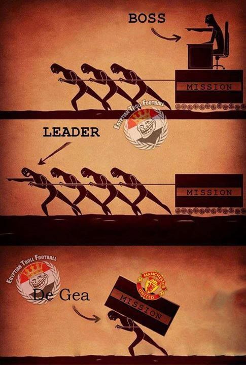 David De Gea Via: Egyptian Troll Football