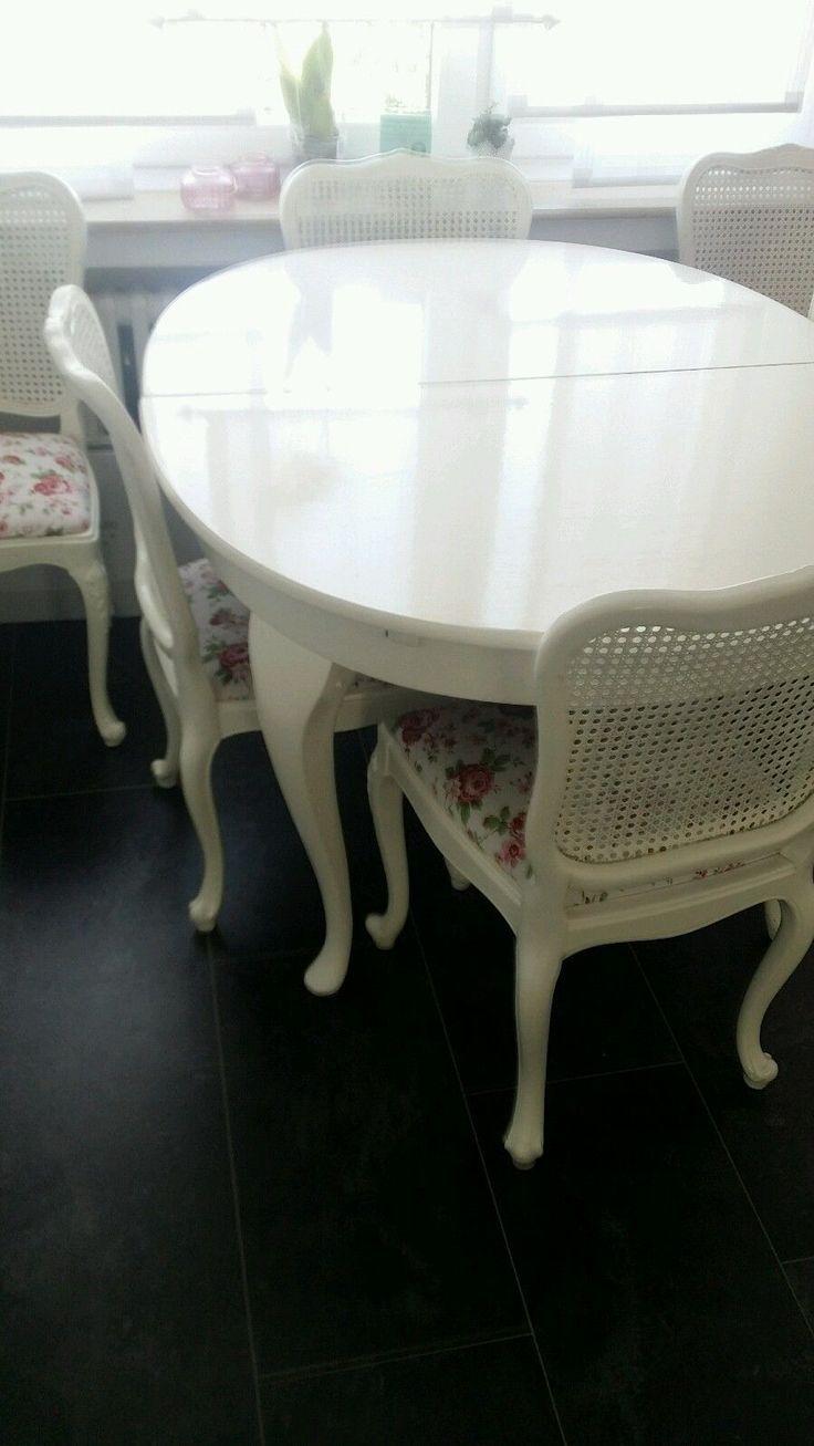 Chippendale esstisch und 6 stühle in Möbel & Wohnen, Möbel, Tisch- & Stuhl-Sets | eBay
