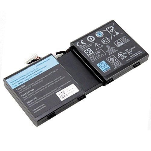 SUNNEAR 2F8K3 Battery for Dell Alienware 17 18 17x 18x M17X R5 M18X R3 0G33TT 0KJ2PX 86WH