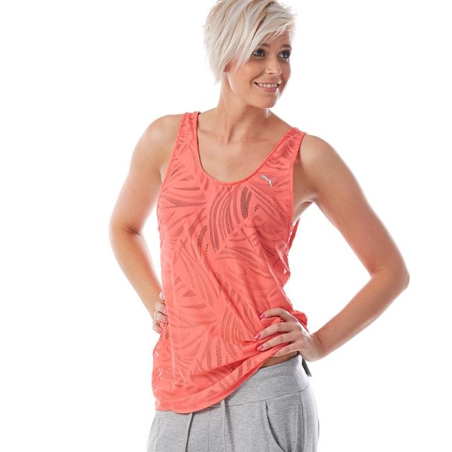 PUMA Gym Loose Top layering dámský top