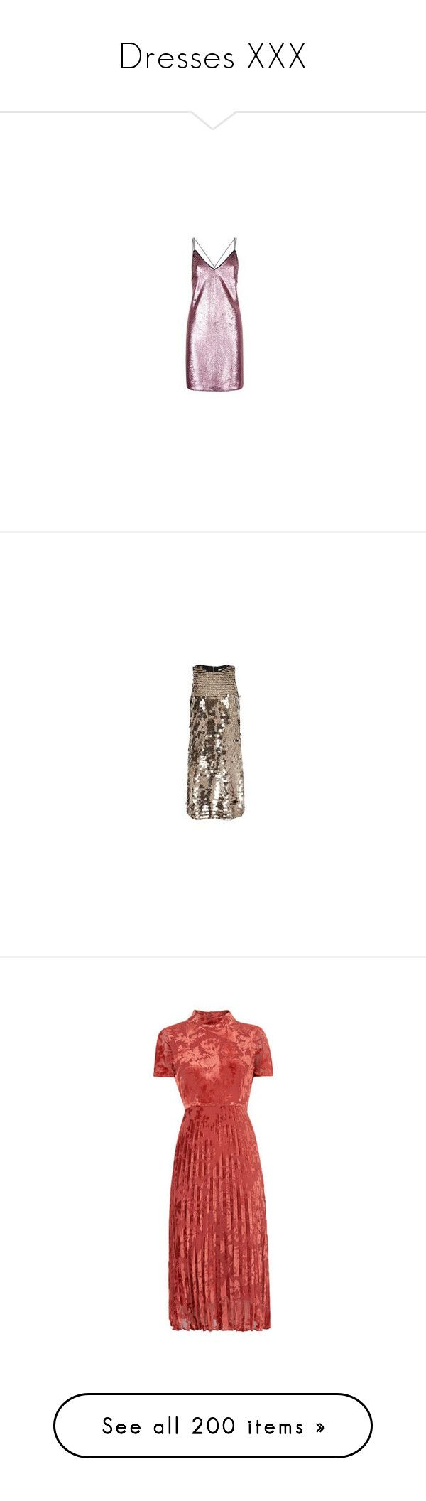 """Dresses XXX"" by lucyheartyui ❤ liked on Polyvore featuring dresses, night out dresses, pink dress, cocktail party dress, pink going out dresses, sparkle dresses, brown sequin dress, sequined dress, brown cocktail dress and brown party dress"