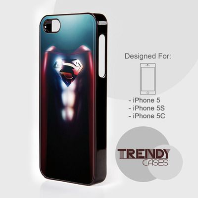 iPhone Case Superman Man Of Steel, iPhone 4/4S/4G Case, iPhone 5/5S/5C, Samsung galaxy S3/S4