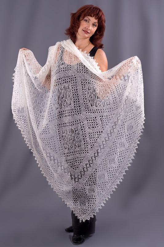 kerchief  from the town Orenburg
