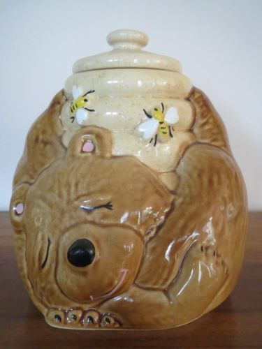 83 best cookie jars images on pinterest vintage cookies boxes and biscuit - Beehive cookie jar ...