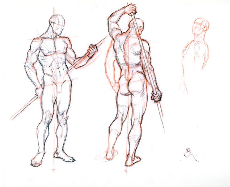 FIGURE DRAWING WITHOUT A MODEL 2 by AbdonJRomero on deviantART