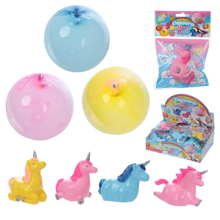 Fun Kids Novelty Unicorn Balloon Ball