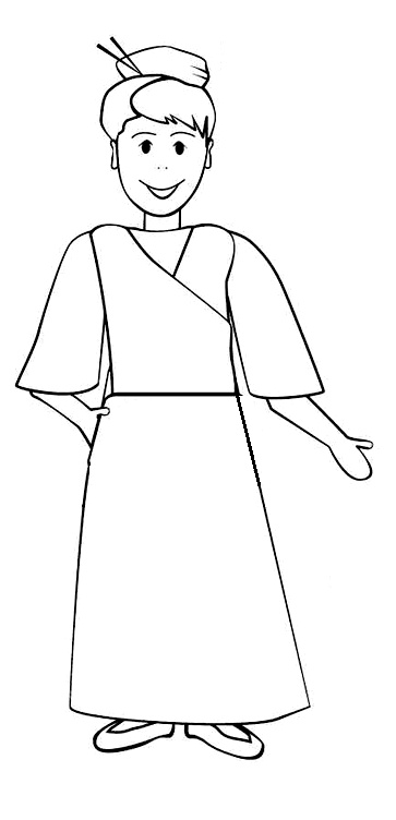 Color your own Flat Lottie Moon and have her visit your church or small group. Pin your #LottieMoon to show how you raised money for international missions.